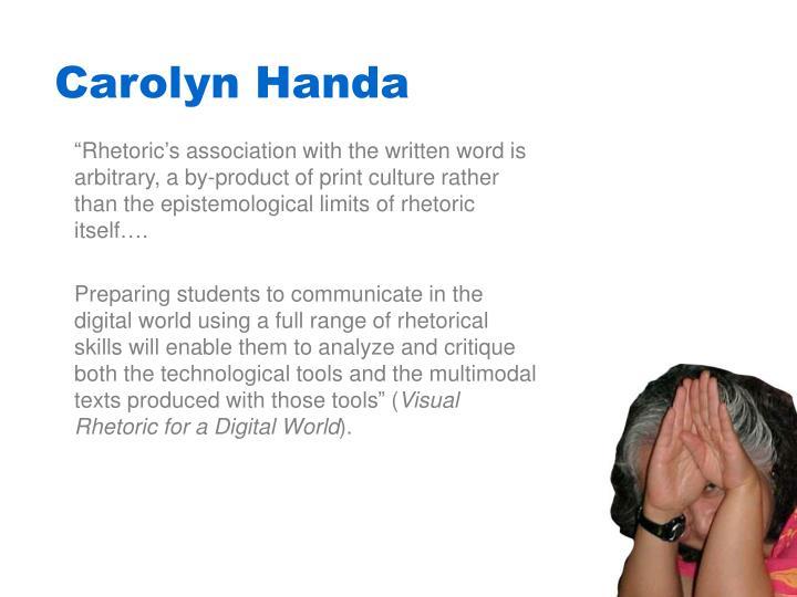 Carolyn Handa
