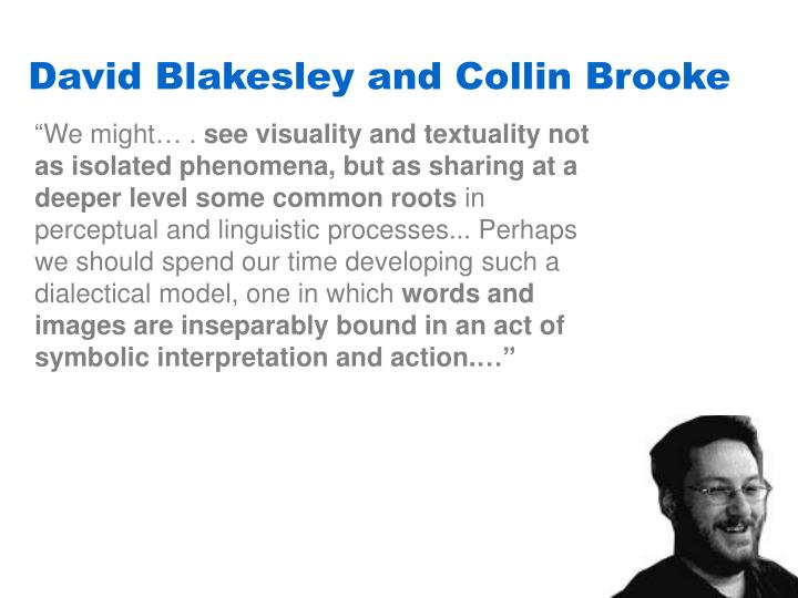 David Blakesley and Collin Brooke