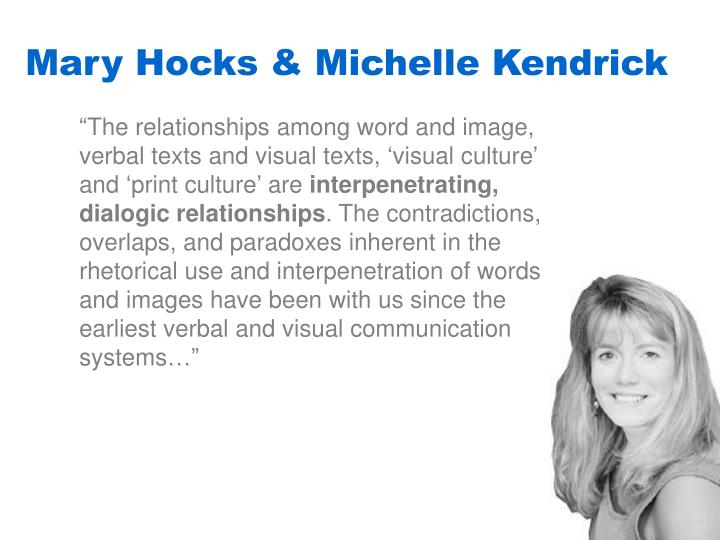 Mary Hocks & Michelle Kendrick