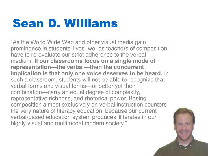 Sean D. Williams