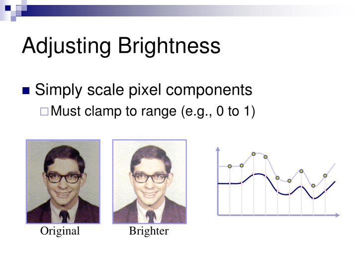 Adjusting Brightness