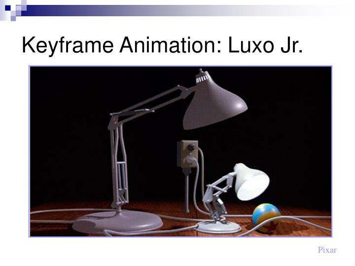 Keyframe Animation: Luxo Jr.