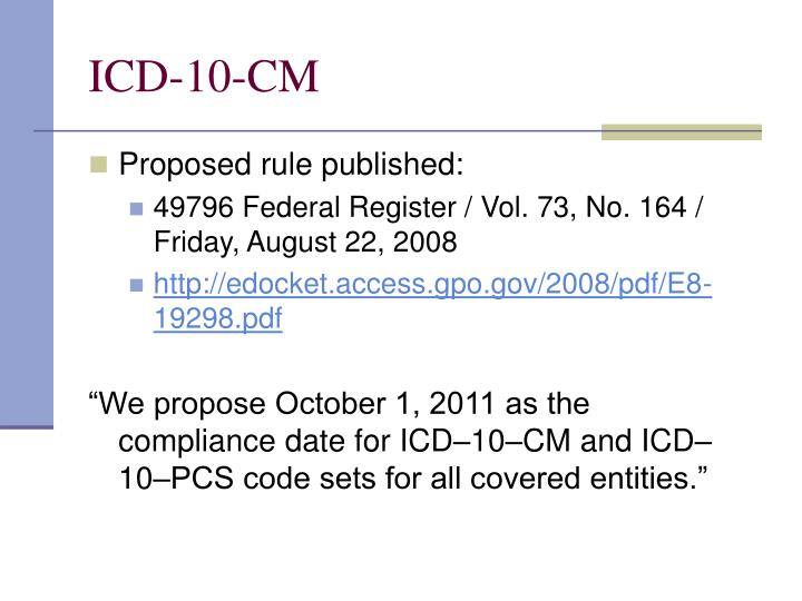 ICD-10-CM
