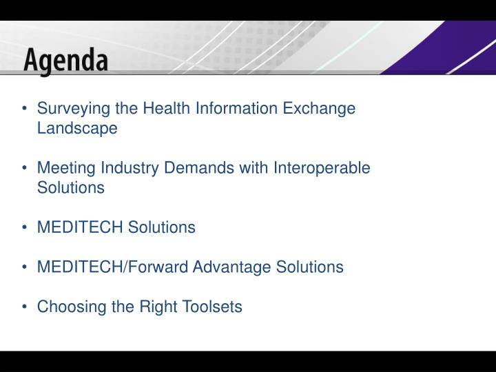 Surveying the Health Information Exchange Landscape