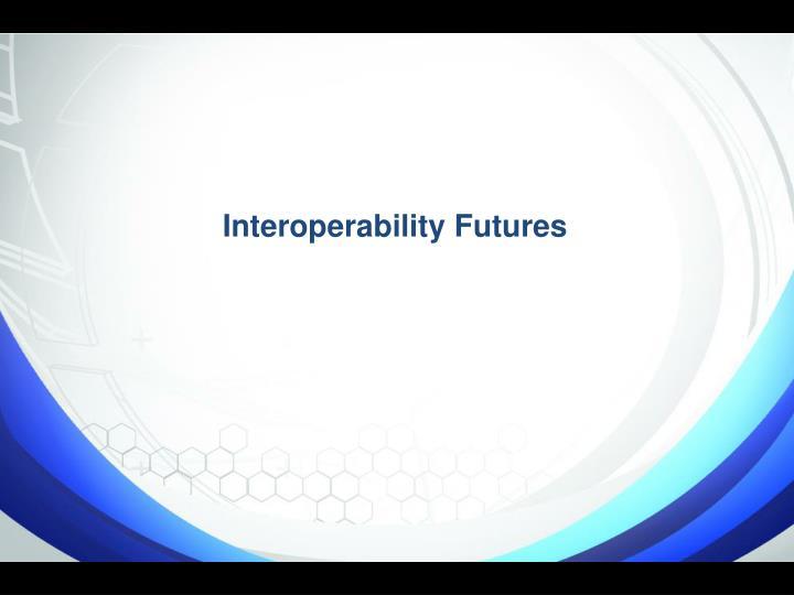 Interoperability Futures