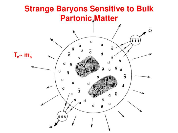 Strange Baryons Sensitive to Bulk Partonic Matter