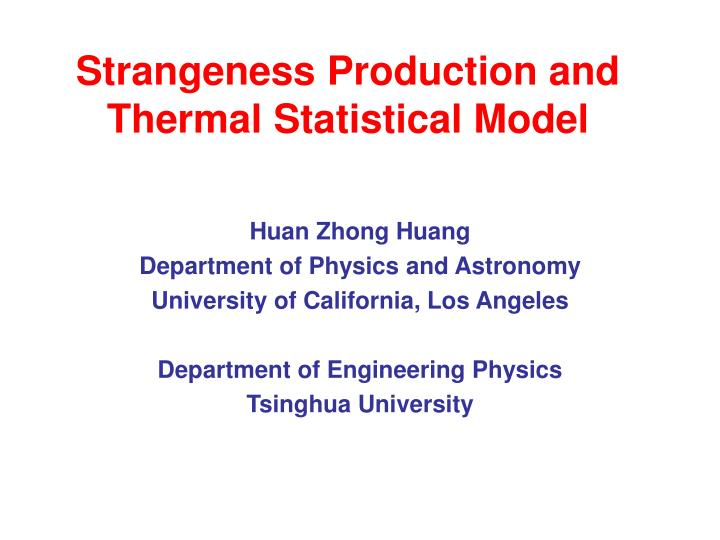 Strangeness production and thermal statistical model