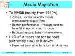 media migration