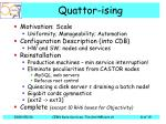 quattor ising