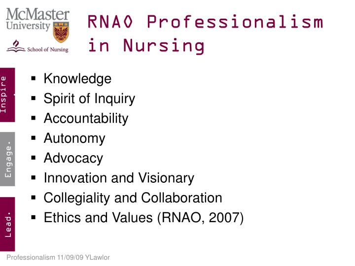 signification of professionalism in nursing essay Hi, i just have a few questions im a first year student who is in need of help with the following information for an essay on professionalism any help is greatly appreciated.