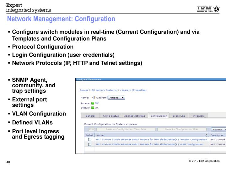 Network Management: Configuration
