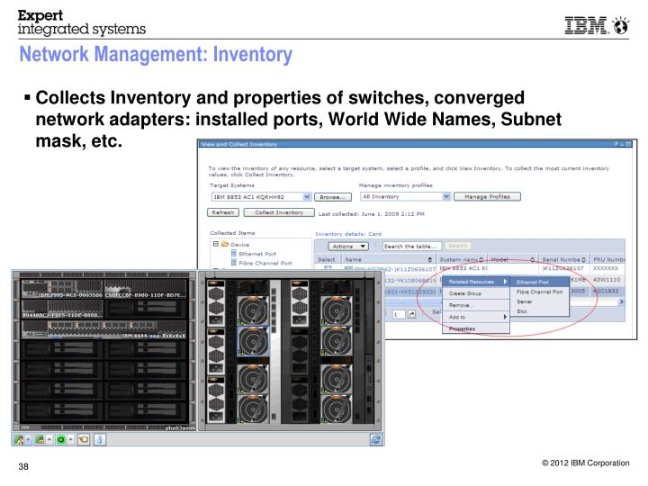 Network Management: Inventory
