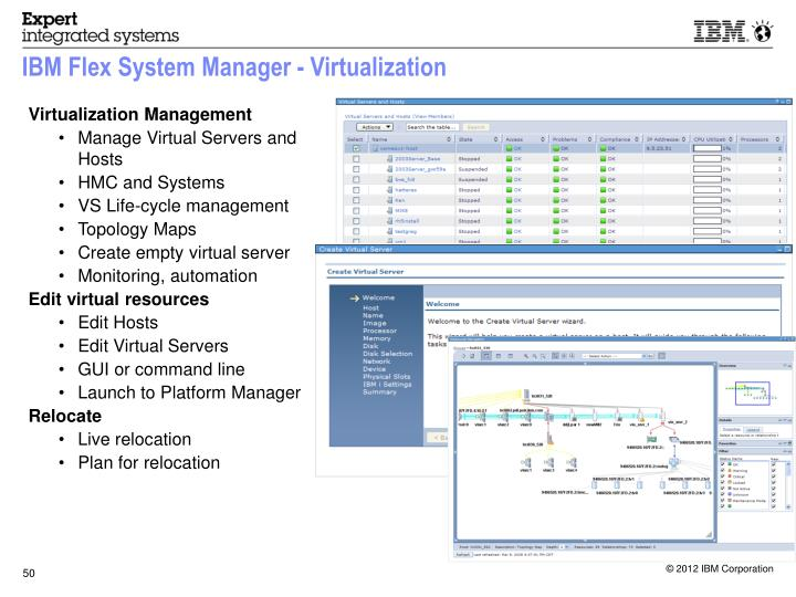 IBM Flex System Manager - Virtualization