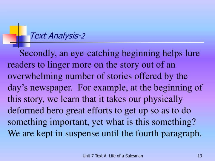 Text Analysis-