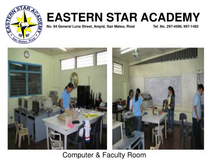 Computer & Faculty Room