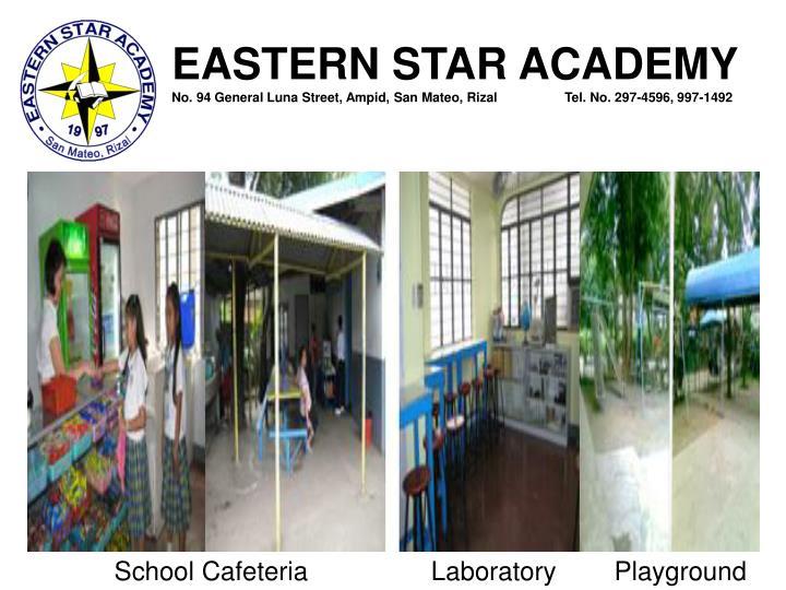 School Cafeteria                 Laboratory        Playground