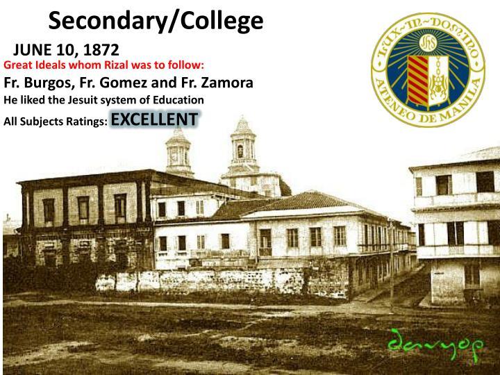 Secondary/College