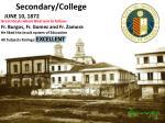 secondary college