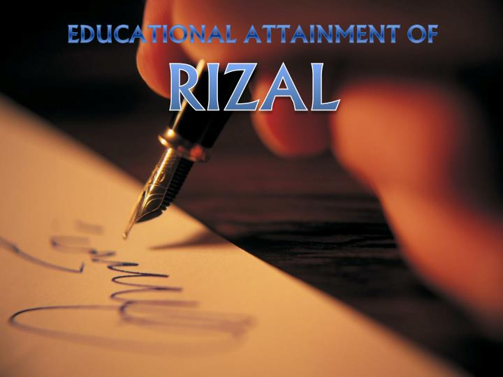 EDUCATIONAL ATTAINMENT OF