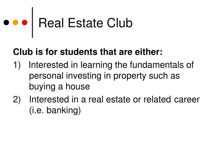 Real Estate Club