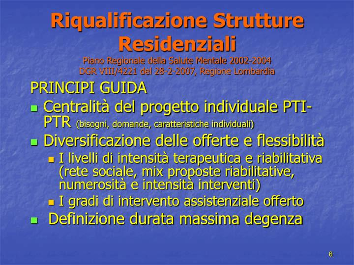 Riqualificazione Strutture Residenziali