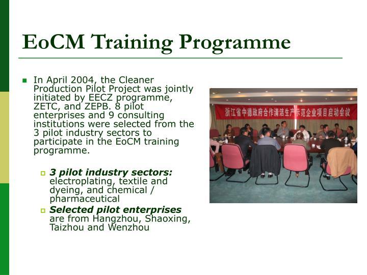 EoCM Training Programme