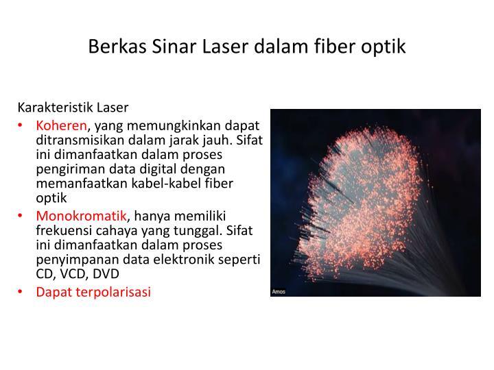 Karakteristik Laser