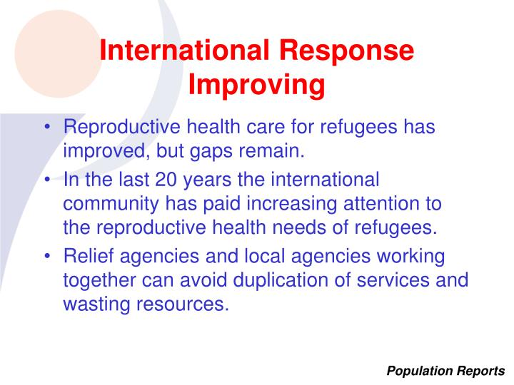 International Response Improving
