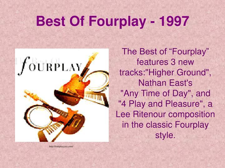 Best Of Fourplay - 1997