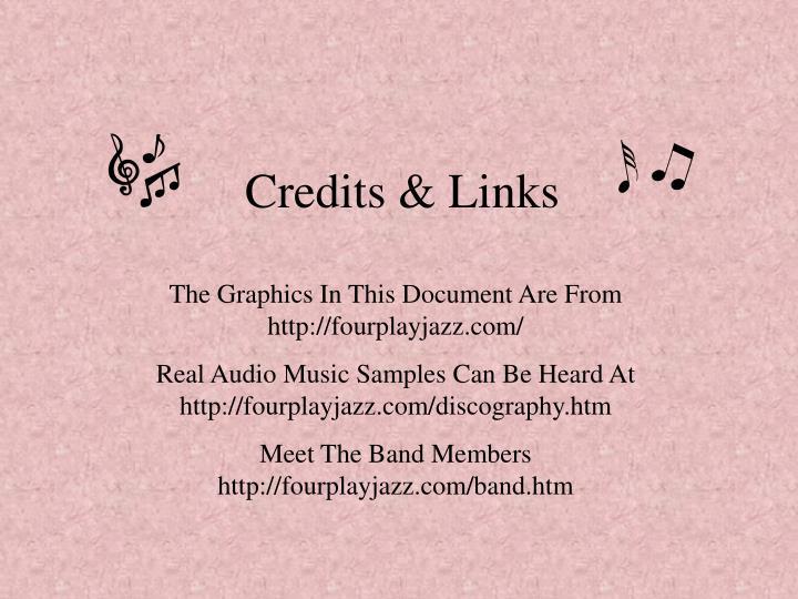 Credits & Links