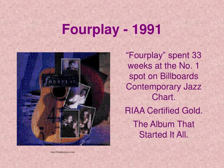 Fourplay - 1991
