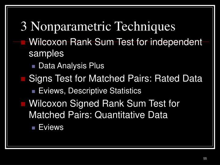 3 Nonparametric Techniques