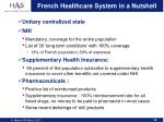 french healthcare system in a nutshell