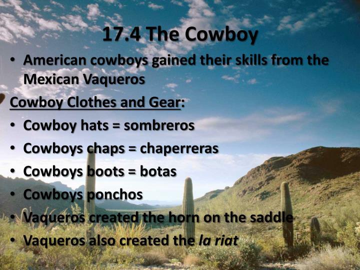 17.4 The Cowboy