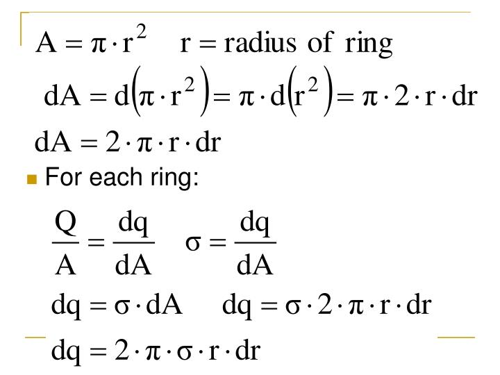 For each ring: