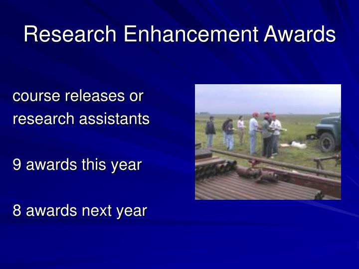 Research Enhancement Awards