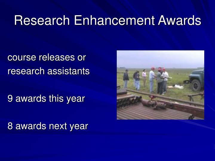 Research Enhancement Awards