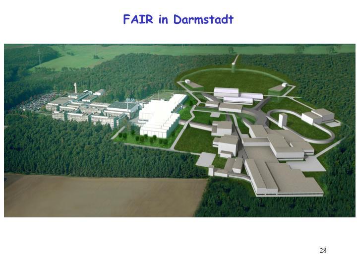 FAIR in Darmstadt