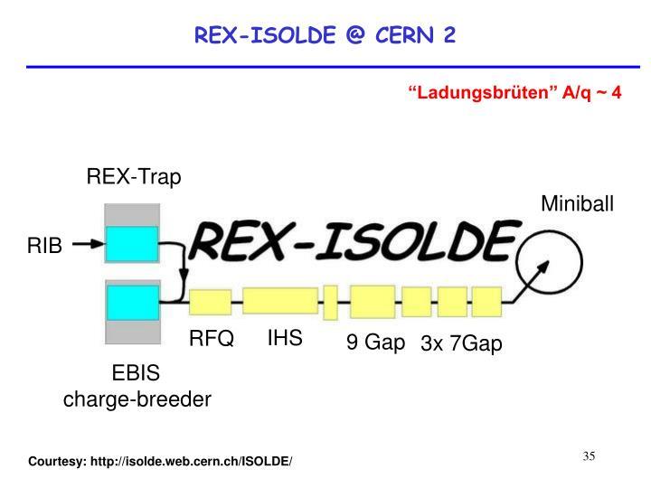 REX-ISOLDE @ CERN 2