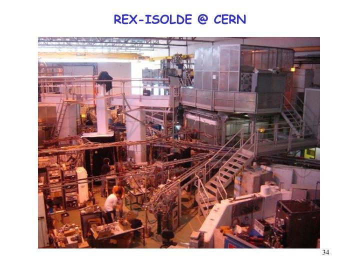 REX-ISOLDE @ CERN