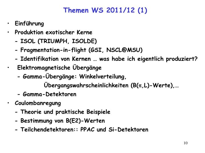 Themen WS 2011/12 (1)