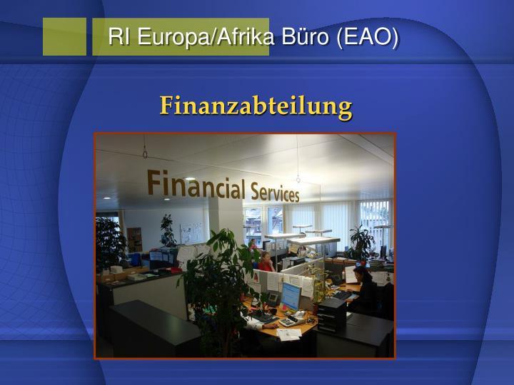 RI Europa/Afrika Büro (EAO)