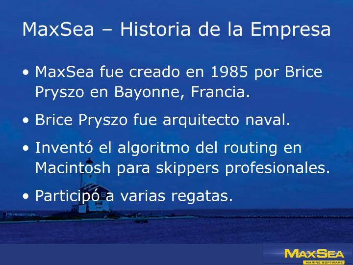 MaxSea –