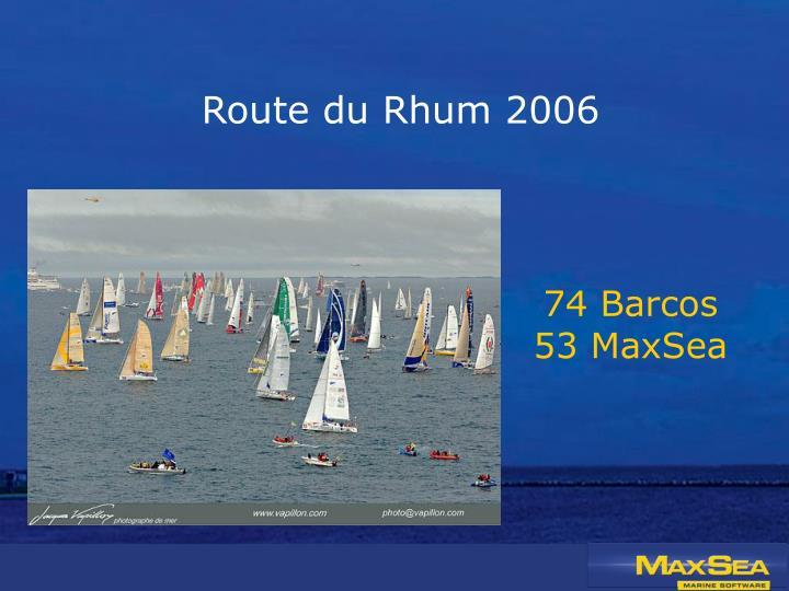 Route du Rhum 2006