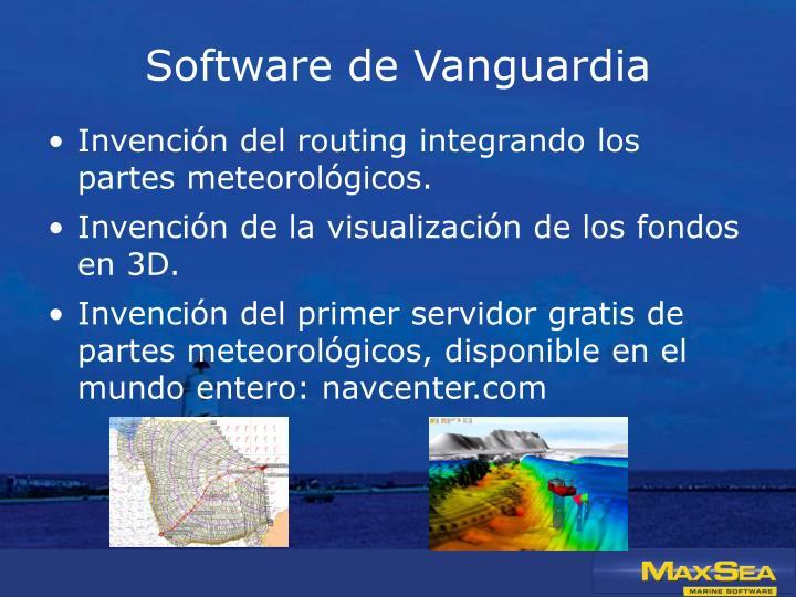 Software de Vanguardia