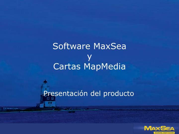 Software MaxSea