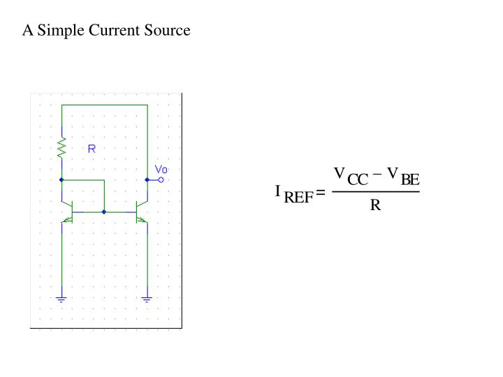 A Simple Current Source