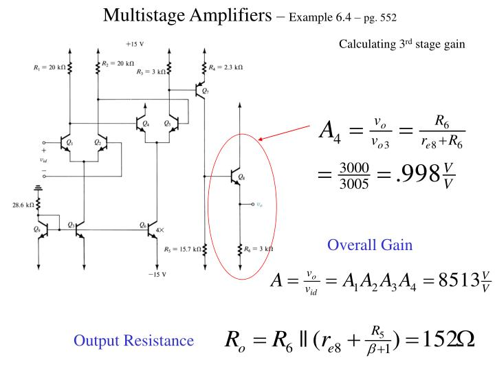 Multistage Amplifiers