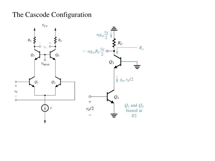 The Cascode Configuration