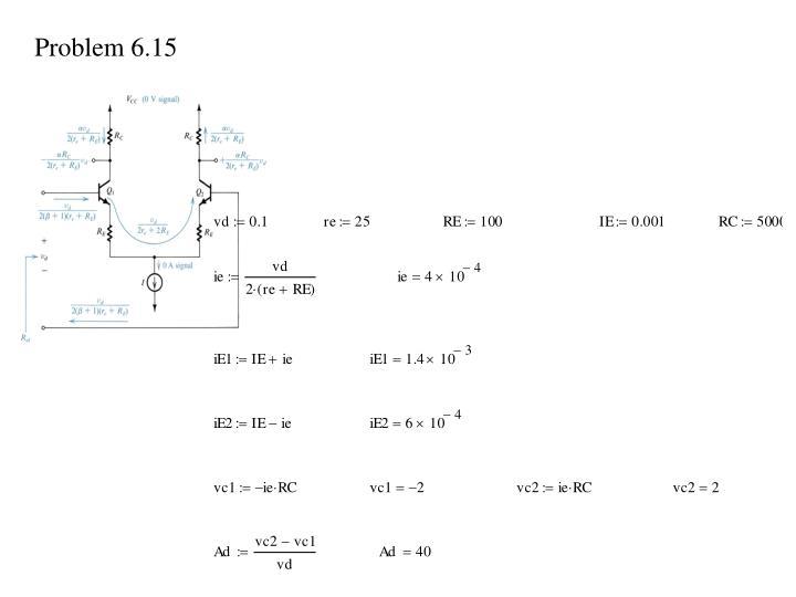 Problem 6.15